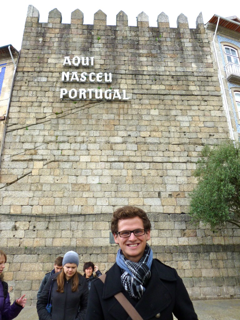 """Portugal was born here"""
